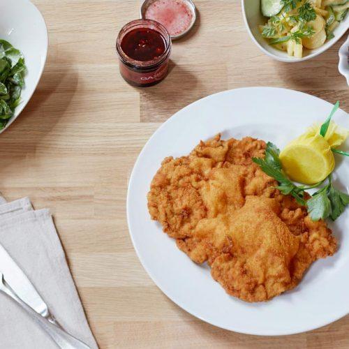 Beste Wiener Schnitzel - frisch zubereitet im Gassenhaur